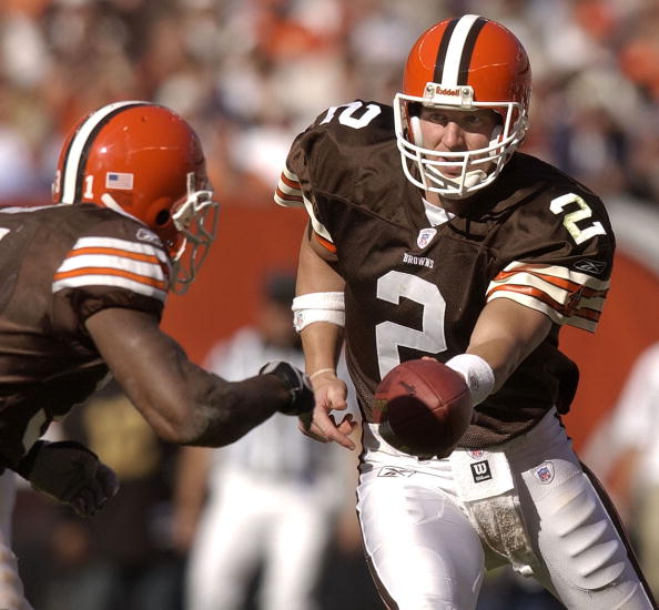 Tim Couch / (Photo by David Maxwell/Getty Images)