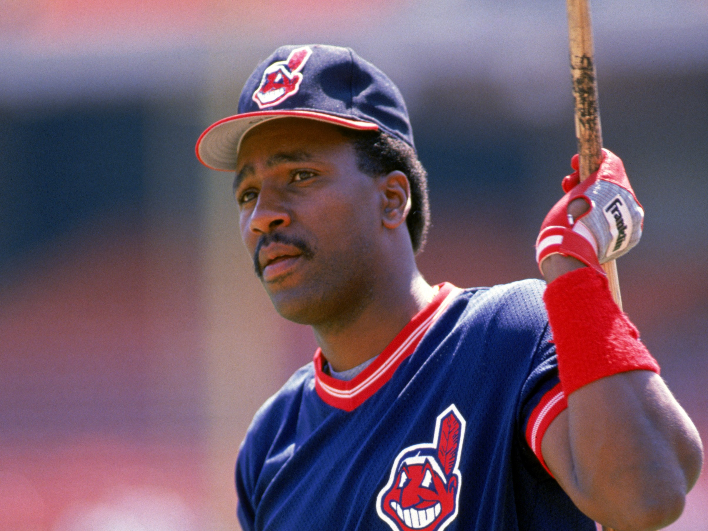 huge discount 48ab8 119d1 Former Indians OF Joe Carter Relives His Time In Cleveland ...