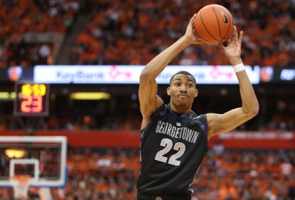 Otto Porter Jr. #22 of the Georgetown Hoyas (Photo by Nate Shron/Getty Images)
