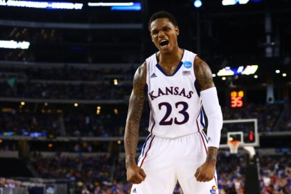 Ben McLemore #23 of the Kansas Jayhawks   (Photo by Ronald Martinez/Getty Images)