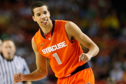 Michael Carter-Williams #1 of the Syracuse Orange  (Photo by Kevin C. Cox/Getty Images)