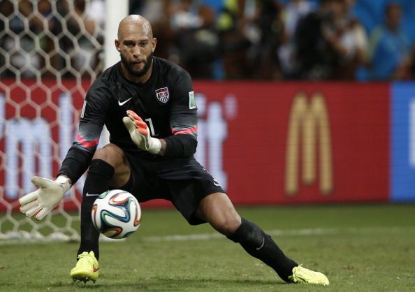 US goalkeeper Tim Howard (credit: ADRIAN DENNIS/AFP/Getty Images)