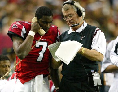 Image result for dan reeves and michael vick