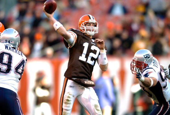 Luke McCown #12 of the Cleveland Browns (Photo by David Maxwell/Getty Images)