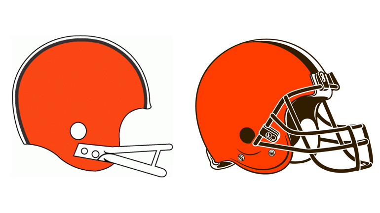 A Quick History Of Cleveland Browns Logos - CBS Cleveland