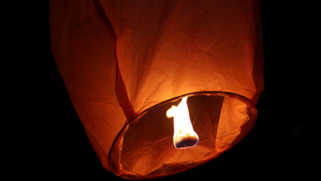 Sky Lanterns, Lights, July 4th