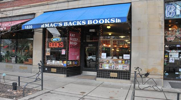 Mac's Books (Photo By Mark Horning)