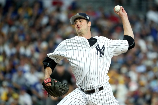 Andrew Miller #48 of the New York Yankees (Photo by Sean M. Haffey/Getty Images)