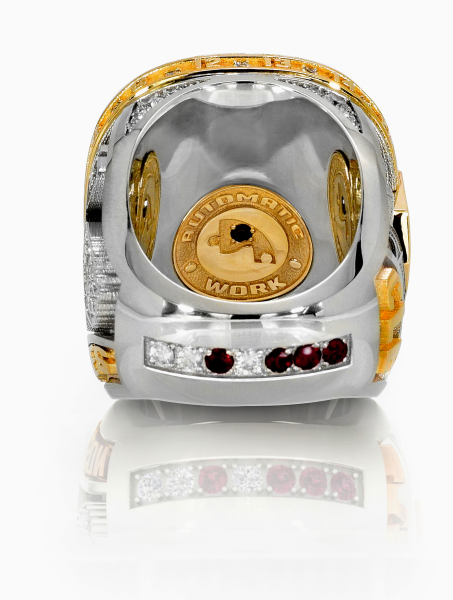 A view of the bottom and interior of the Cleveland Cavaliers 2016 NBA Championship ring / (Photo courtesy: Cleveland Cavaliers)