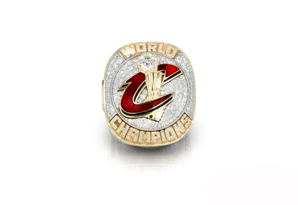 The top of the Cleveland Cavaliers 2016 NBA Championship ring / (Photo courtesy: Cleveland Cavaliers)