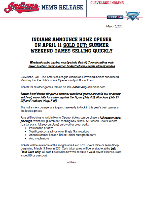 indians-sell-out-press-release