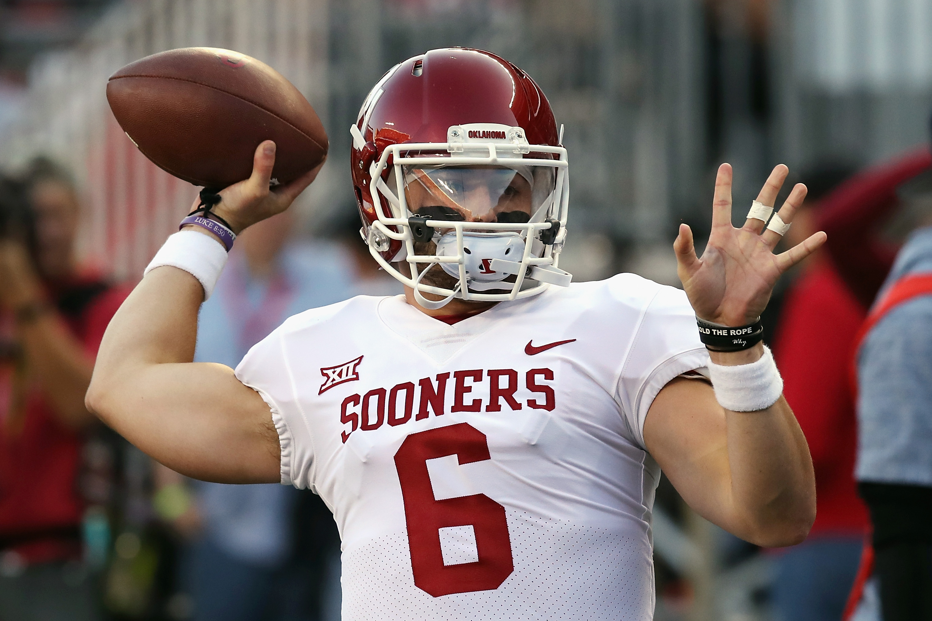reputable site 4f916 4e72d Baker Mayfield: There's One Thing I Know How To Do, And ...