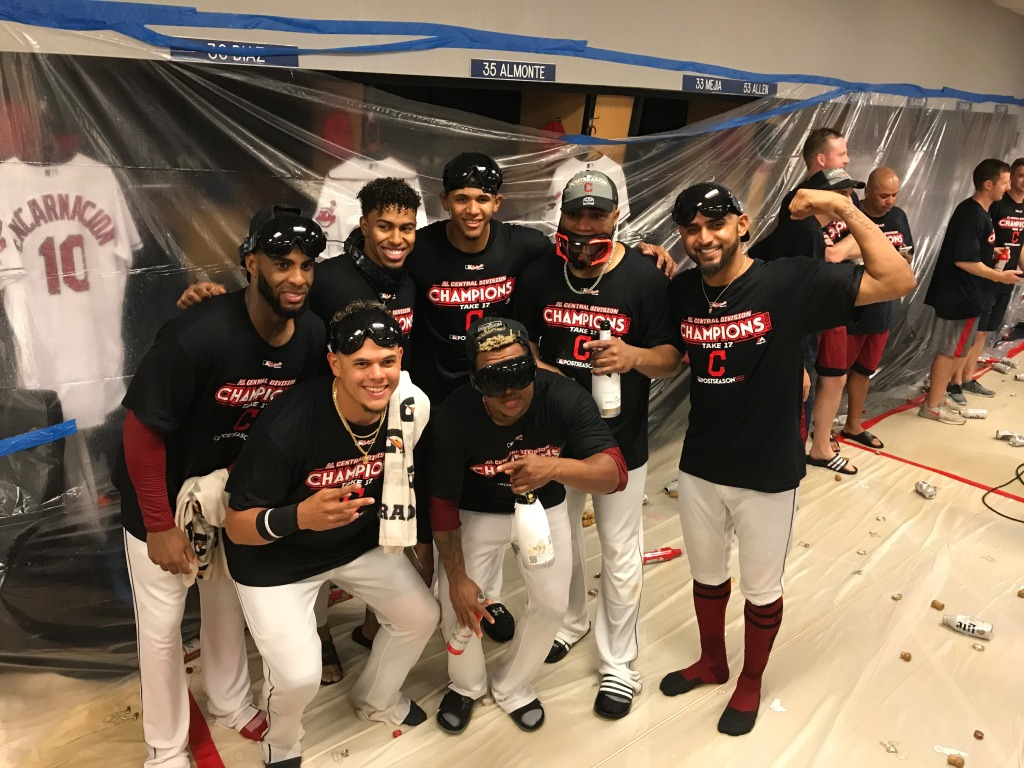 Indians Celebrate American League Central Championship – CBS Cleveland