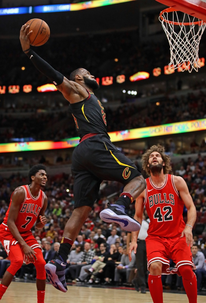 24f840a8383d Cleveland Cavaliers vs. Chicago Bulls – December 4th, 2017Cleveland  Cavaliers v Chicago BullsCHICAGO, IL - DECEMBER 04: LeBron James #23 of the  Cleveland ...